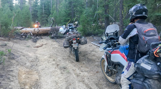 Photo Journal 24 – Back on the Trail – McDermitt, OR 7/12 to Crescent, OR 7/13